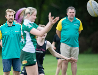 Classic Wallabies visit Lismore Rugby Club