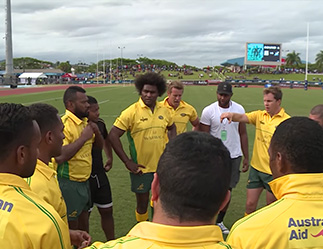 Classic Wallabies in Fiji: Behind the scenes on game day