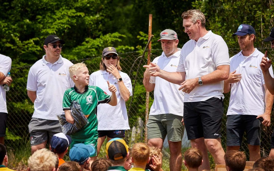 Classic Wallabies on the road to assist grassroots
