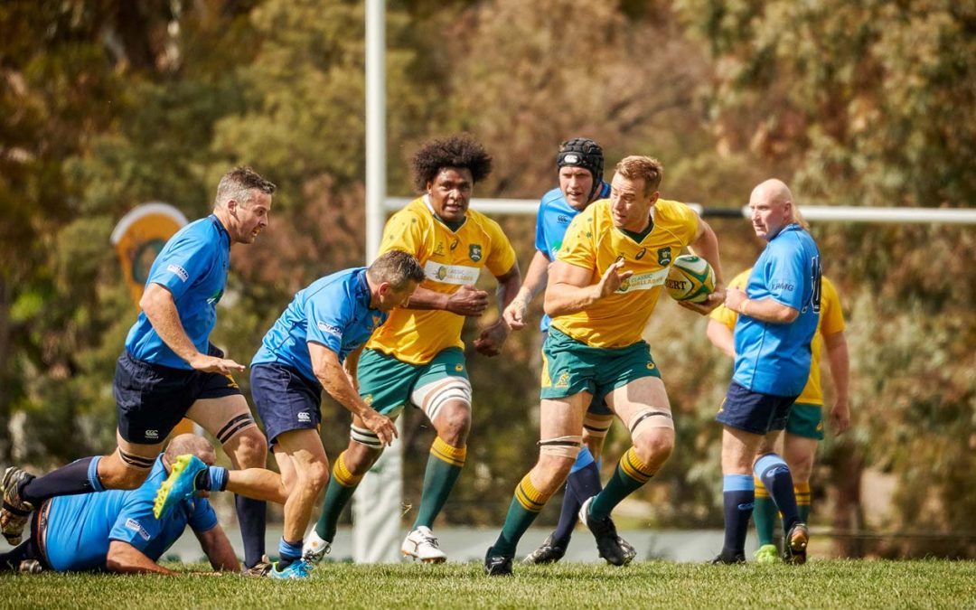 GALLERY – Classic Wallabies vs Central West Barbarians Match Day