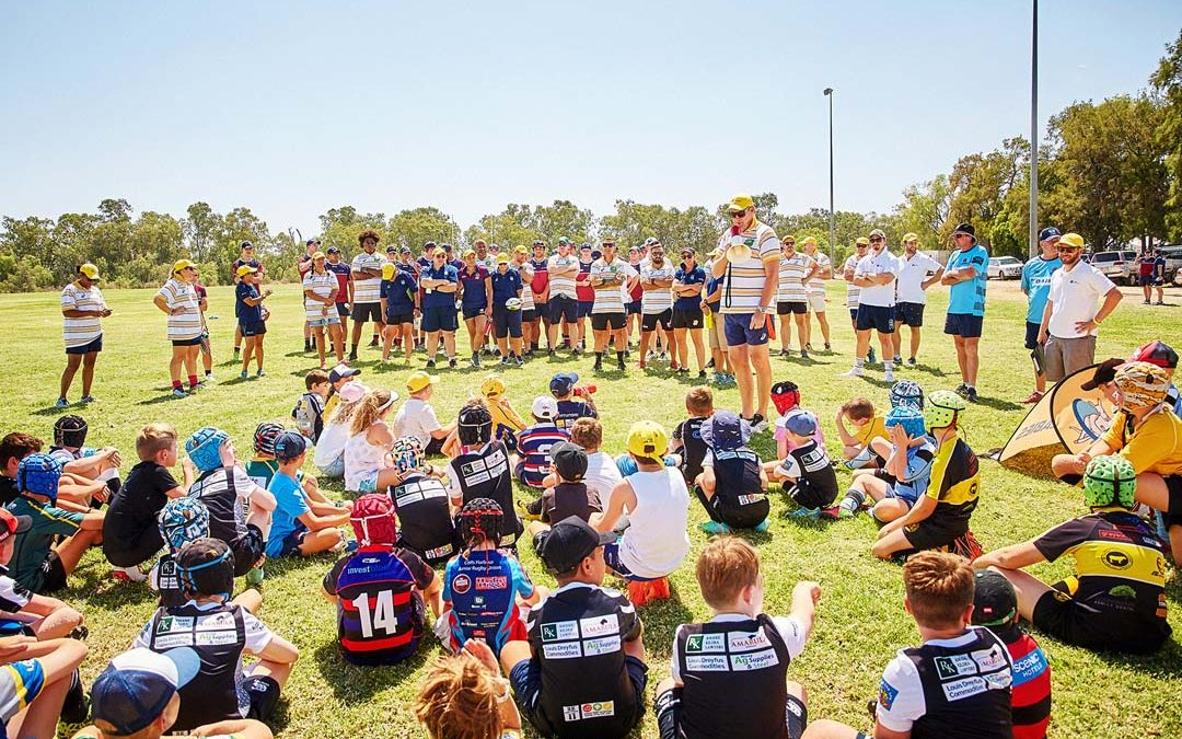 GALLERY – Junior Rugby gets a boost in Moree and the Central North