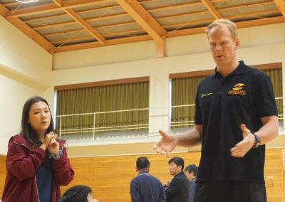GALLERY – Classic Wallabies Coaching Clinics in Oita Prefecture