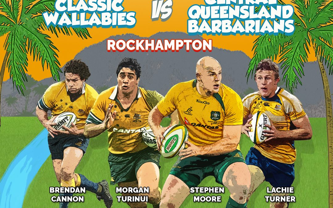 Classic Wallabies to bring rugby festival to Rockhampton