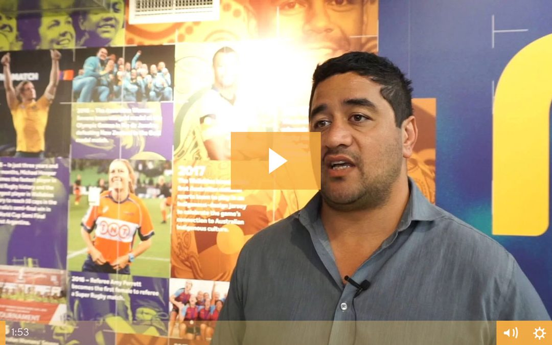 VIDEO: Morgan Turinui on his appointment to Classic Wallabies