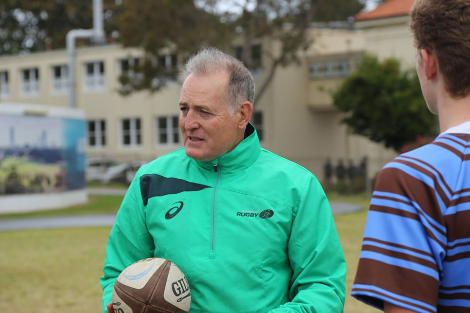 David Campese re-joins Australian Rugby in an ambassadorial role
