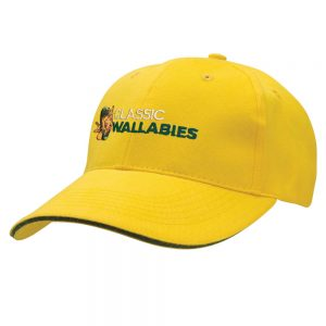 Classic Wallabies cap - gold