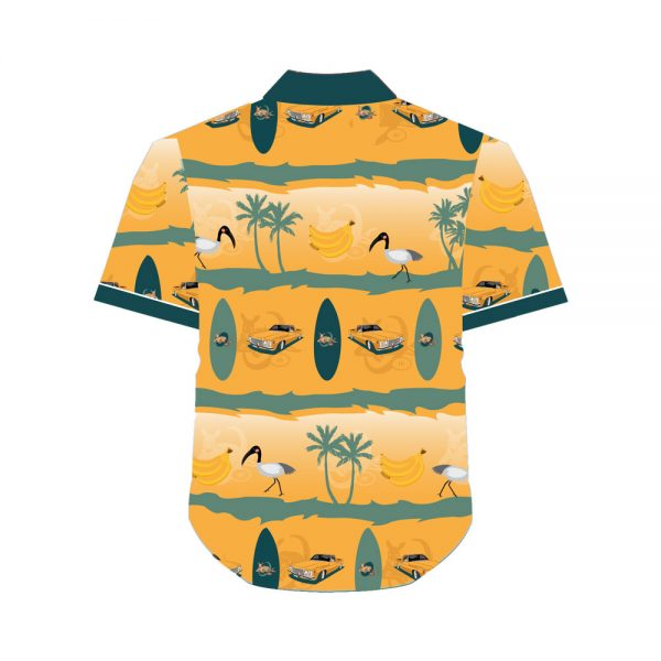 Classic Wallabies Hawaiian Shirt Back